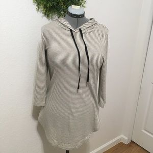 3 for $25. Chance or Fate gray striped hoodie